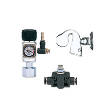 Aquarium CO2 system, CO2 accessories