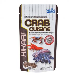 Hikari Crab Cuisine 50g - sinking food for crayfish and crabs