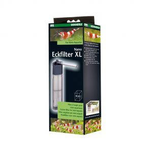 Dennerle Nano XL corner filter for aquarium size 30-60 l