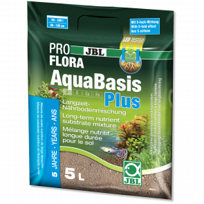 JBL Aqua Basis Plus 5 l - Ready-to-use long-term nutrient substrate for new aquariums