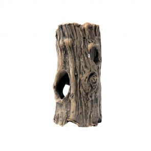 GreenWorks ceramic hiding place - Tree trunk XS (11-12 cm)