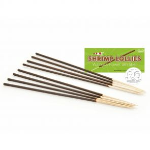 GlasGarten Shrimp Lollies - Walnut sticks - 8 pcs