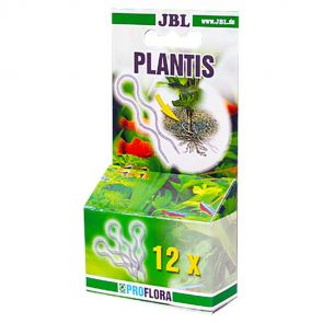 JBL Plantis - 12 plant pegs to securely anchor plants in the gravel