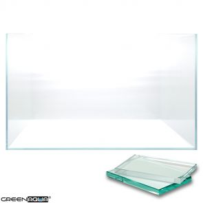 Green Aqua Opti-White (Clear Glass) Aquarium - 18 liters, 45x24x16 cm (45-F)