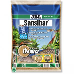 JBL Sansibar Orange 5kg - natural gravel for aquariums