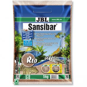 JBL Sansibar Red 5kg - natural gravel for aquariums