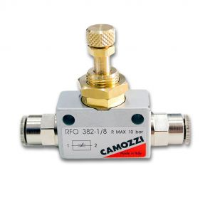Camozzi CO2 Needle Valve - Speed Controller