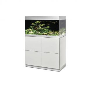 Oase HighLine 200 white aquarium set with cabinet