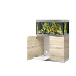 Oase HighLine 200 oak aquarium set with cabinet