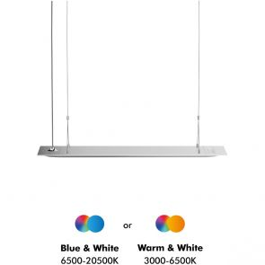ONF Flat One Plus LED light - 90 cm pendant style (7500 lm, 90 W)