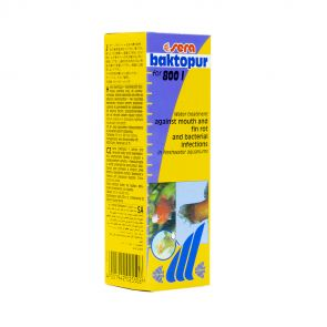 Sera Baktopur 50 ml (800 l-re)