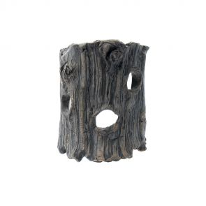 GreenWorks ceramic hiding place - Half tree trunk XS (12cm)