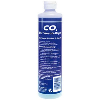 The simple and safe method of CO2 fertilization  CO2 production and supply are carried out fully automatically and in the right quantities. Nothing needs to be set or measured. The ultimate in simplicity and convenience. This makes DENNERLE Bio-CO2 ideal